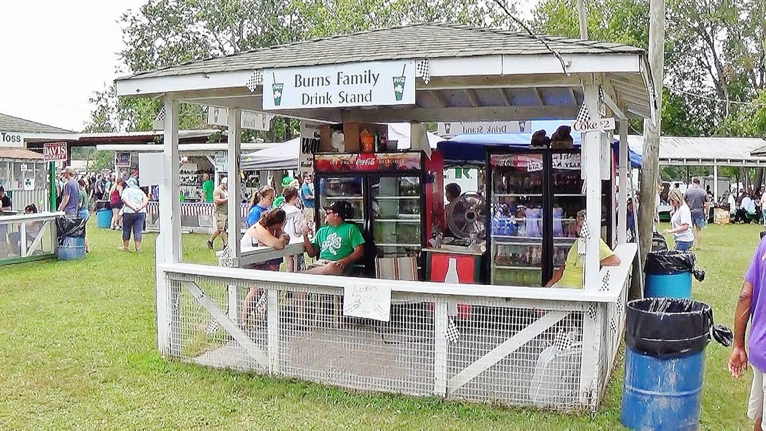 St Patricks Irish Picnic McEwen TN Drink Stand