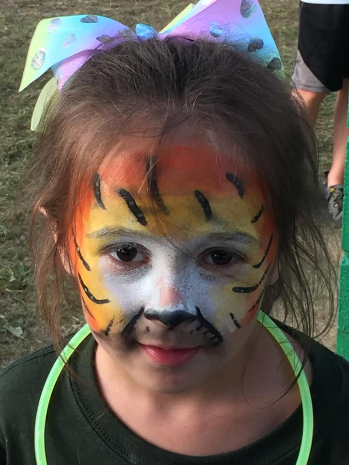 face paint for kids tennessee irish picnic