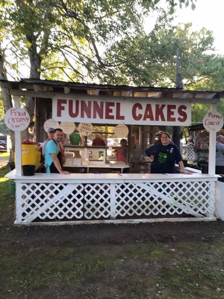 food booths at irish picnic