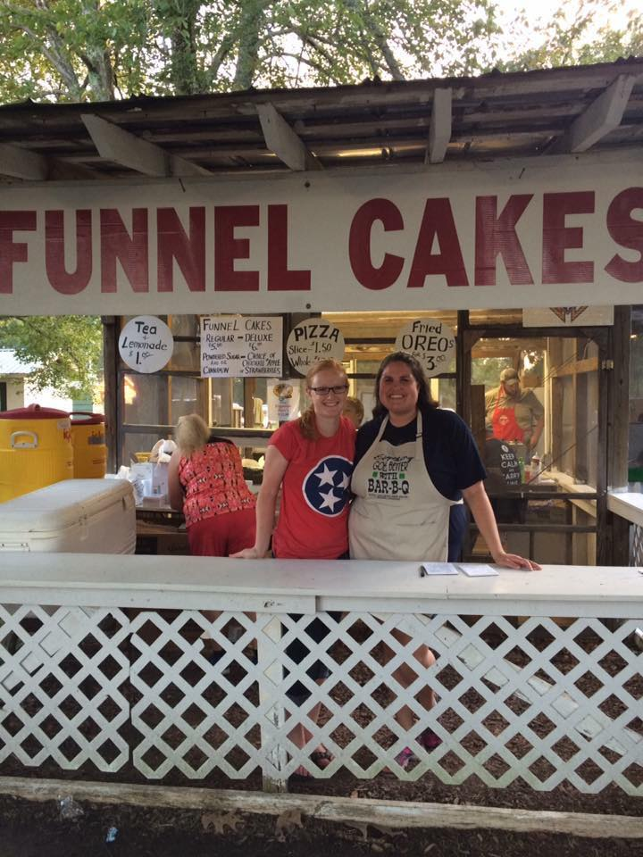 irish picnic food funnel cakes