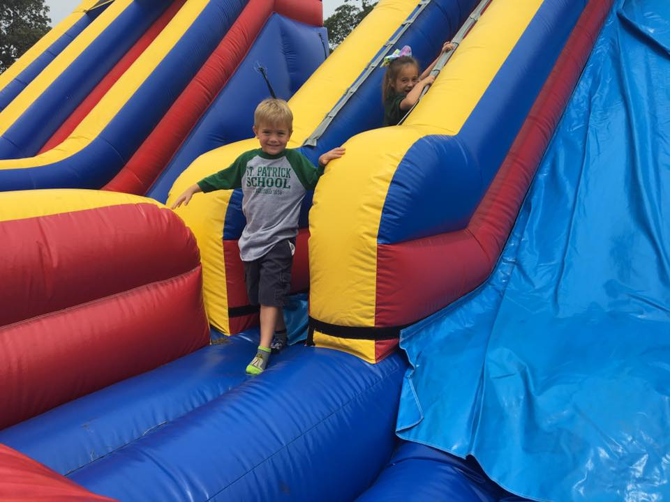 st patricks irish picnic festival moon bounce
